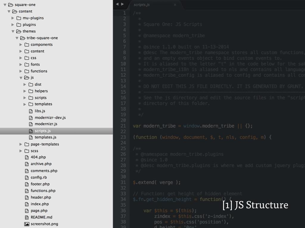 [1] JS Structure