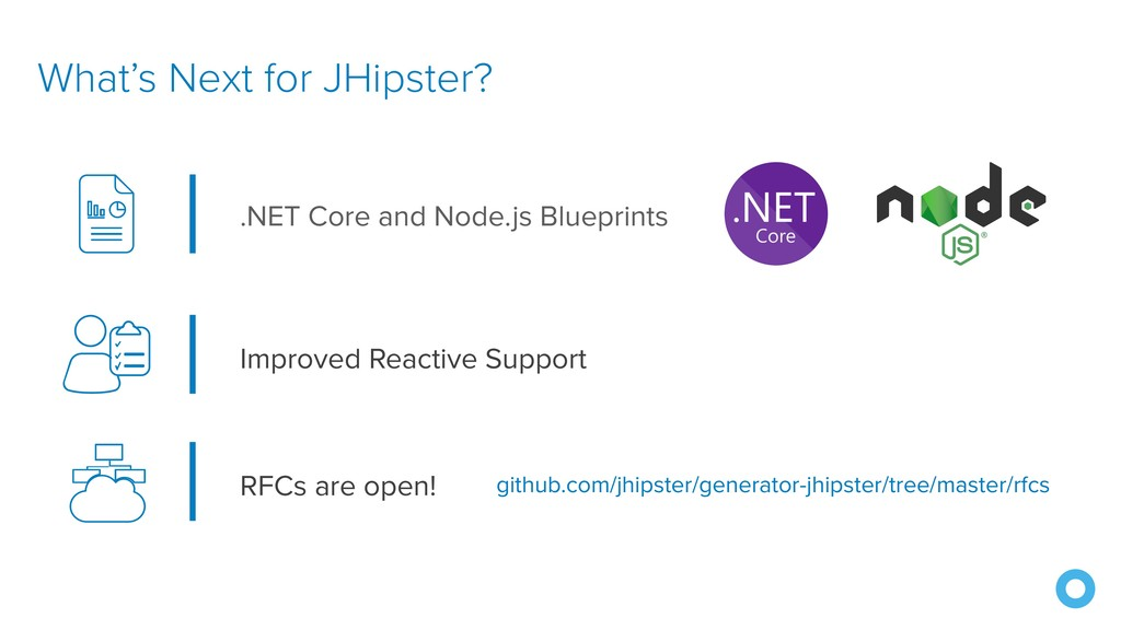 What's Next for JHipster? Improved Reactive Sup...