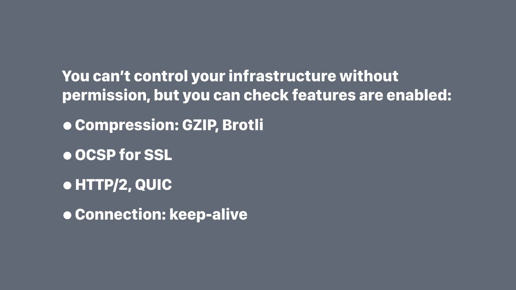 You can't control your infrastructure without p...