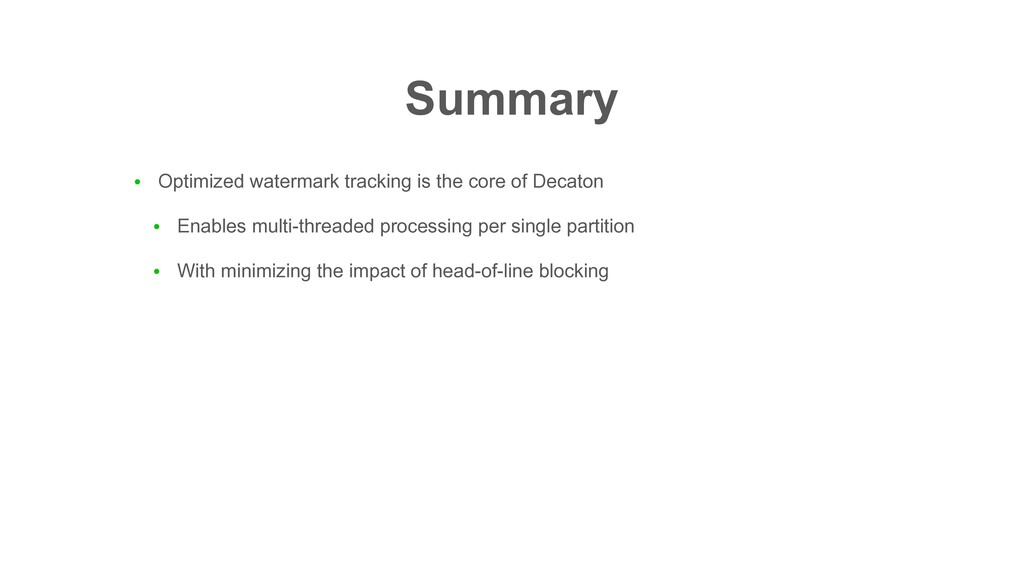 ● Optimized watermark tracking is the core of D...