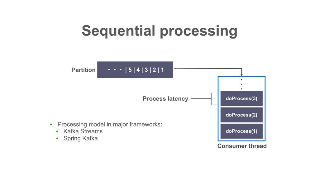 Sequential processing ɾɾɾ | 5 | 4 | 3 | 2 | 1 d...