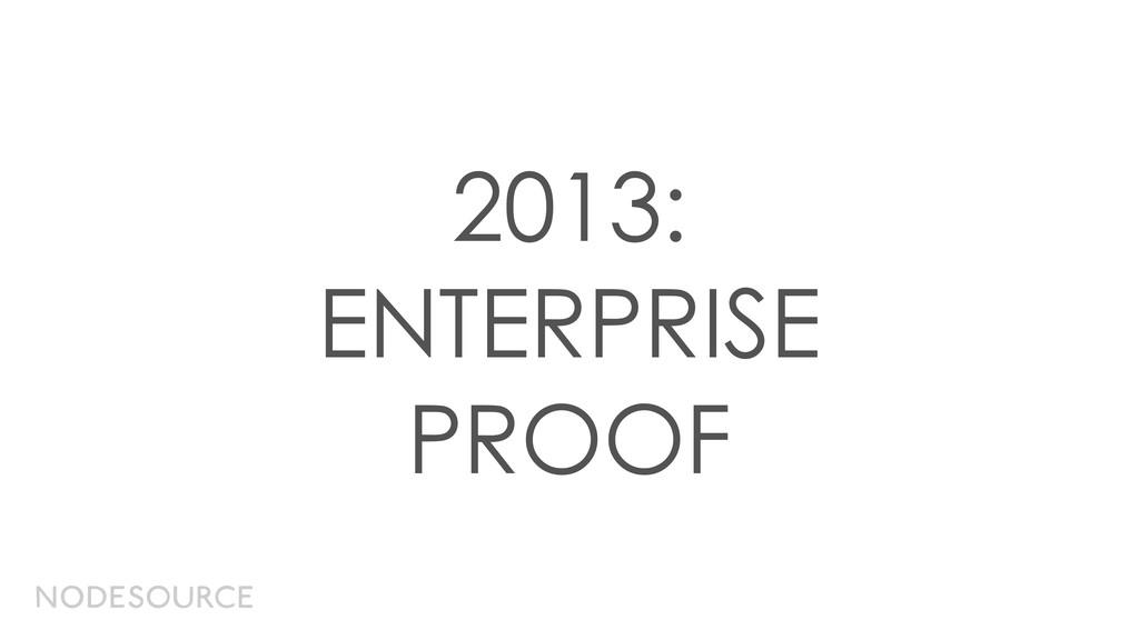 2013: ENTERPRISE PROOF