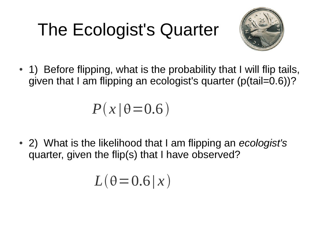 The Ecologist's Quarter ● 1) Before flipping, w...