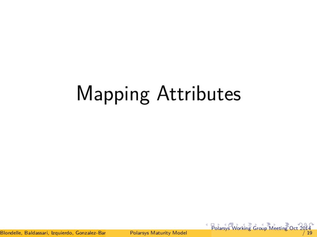 Mapping Attributes Blondelle, Baldassari, Izqui...