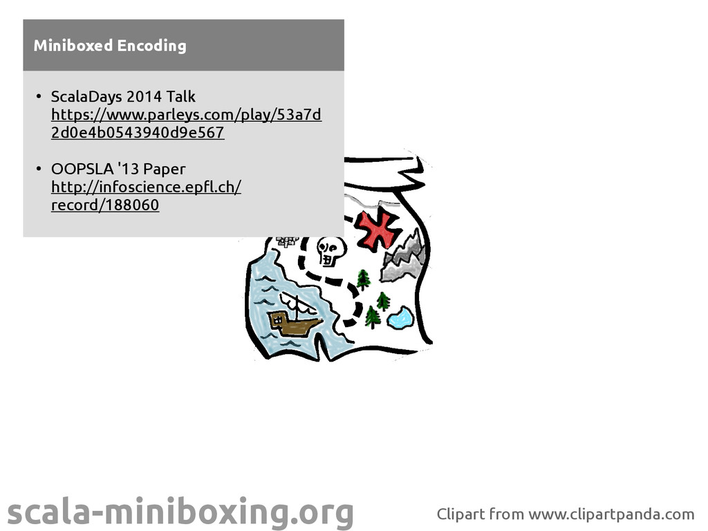 scala-miniboxing.org Miniboxed Encoding ● Scala...