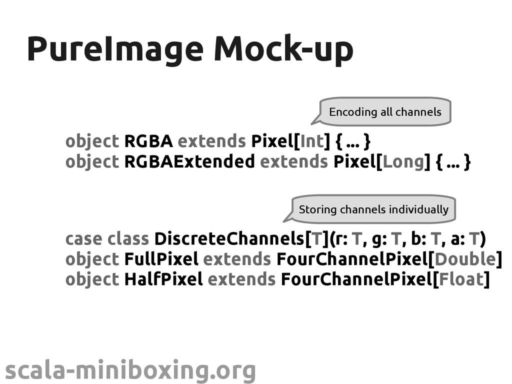 scala-miniboxing.org PureImage Mock-up PureImag...