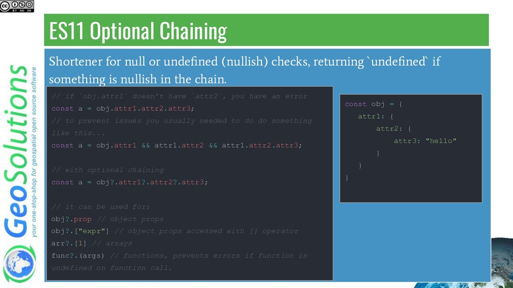 ES11 Optional Chaining Shortener for null or un...