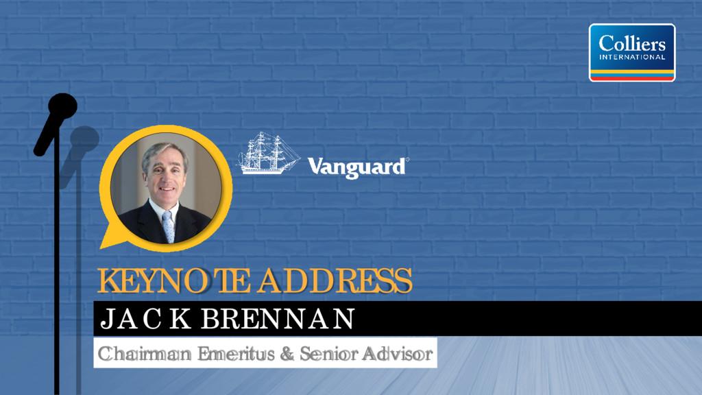KEYNOTE ADDRESS JACK BRENNAN Chairman Emeritus ...