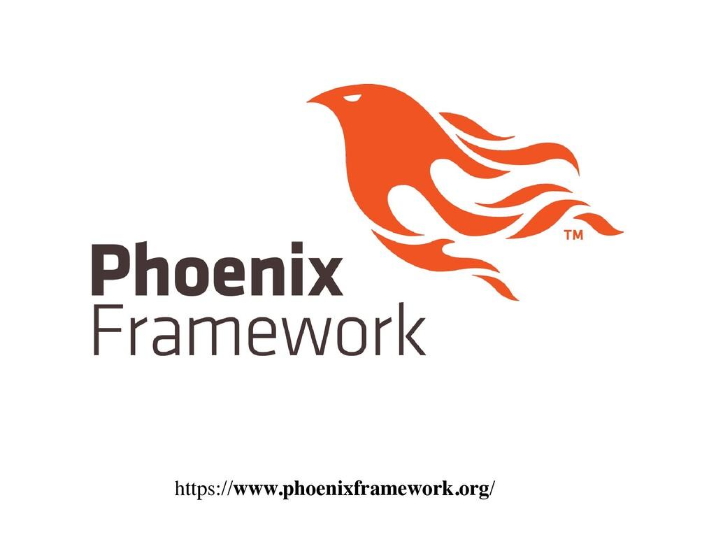 https://www.phoenixframework.org/