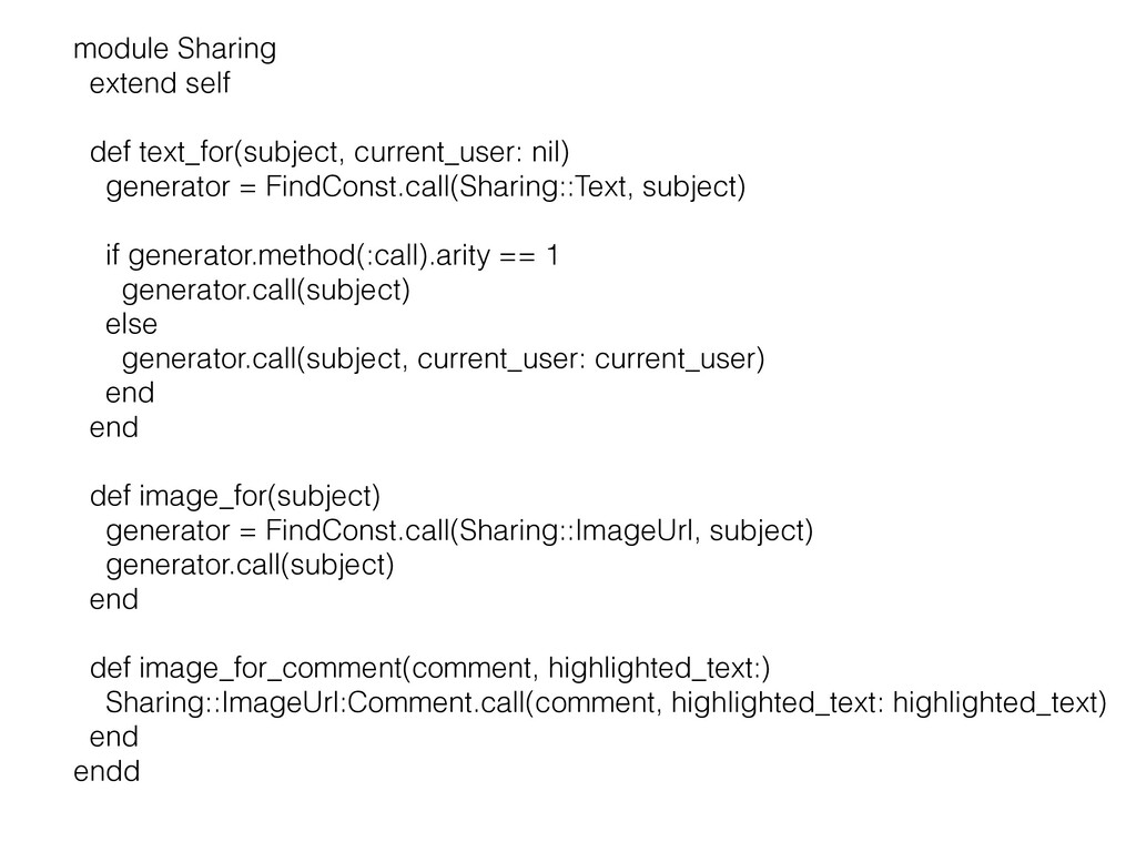 module Sharing   extend self   def text_for(sub...