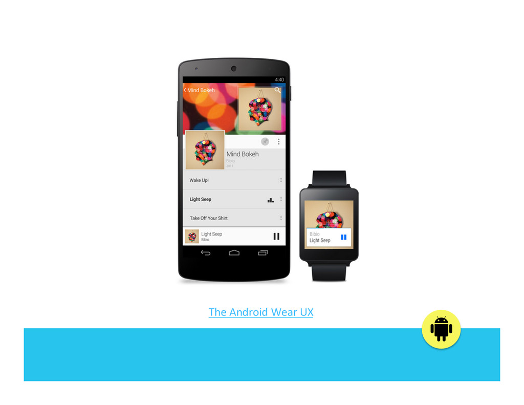 The Android Wear UX