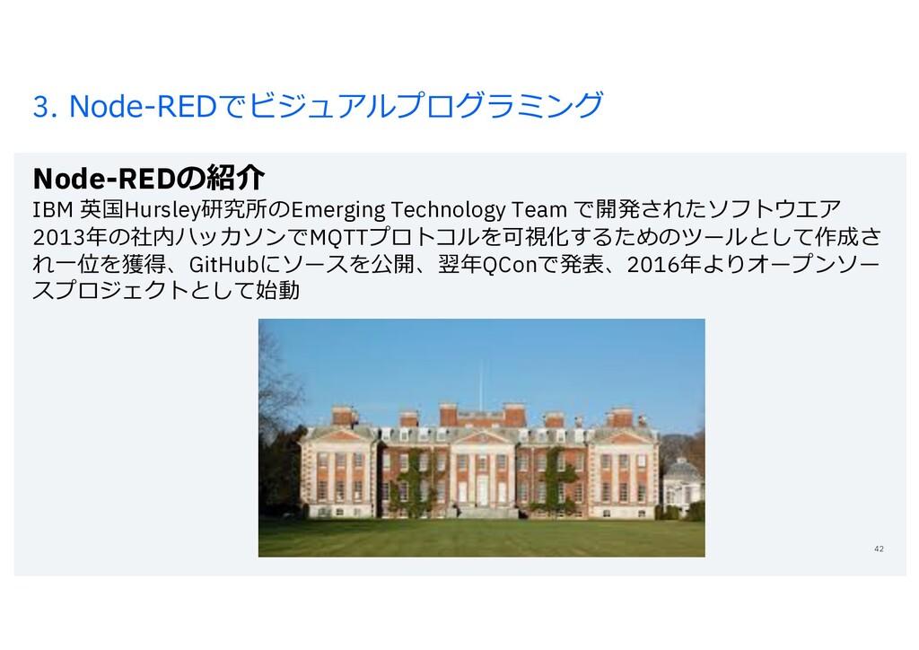 3. Node-REDでビジュアルプログラミング Node-REDの紹介 IBM 英国Hurs...