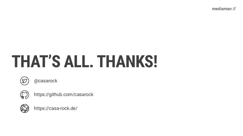 THAT'S ALL. THANKS! @casarock https://github.co...