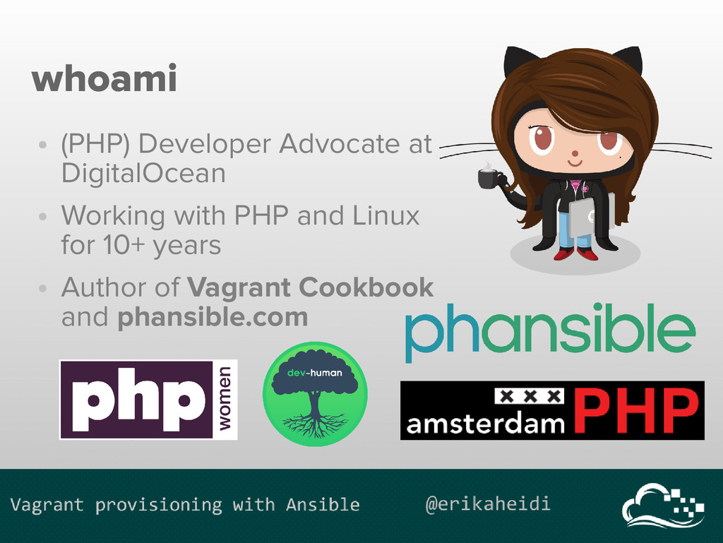 whoami ● (PHP) Developer Advocate at DigitalOce...