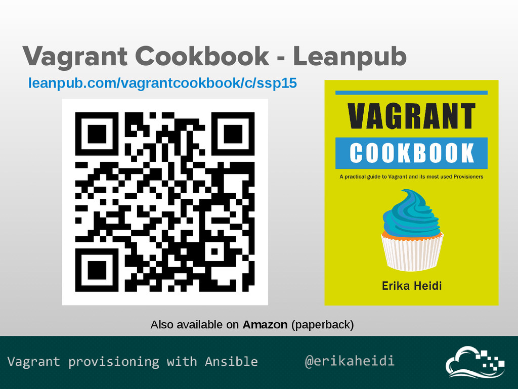 Vagrant Cookbook - Leanpub leanpub.com/vagrantc...