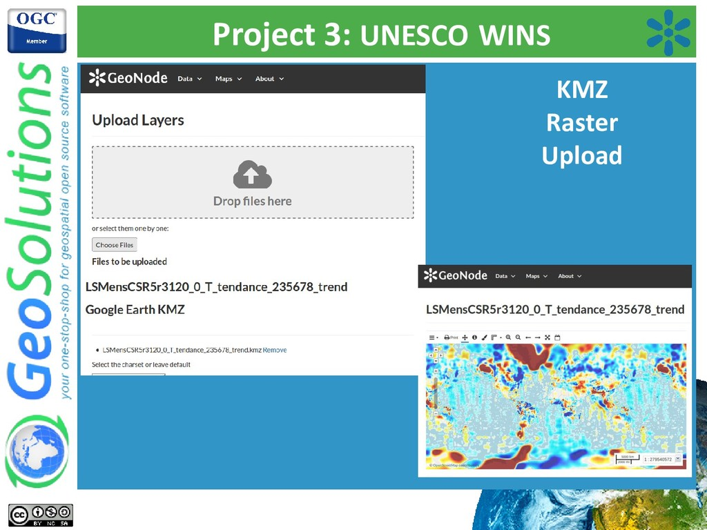 Project 3: UNESCO WINS KMZ Raster Upload