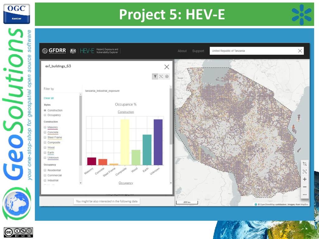 Project 5: HEV-E