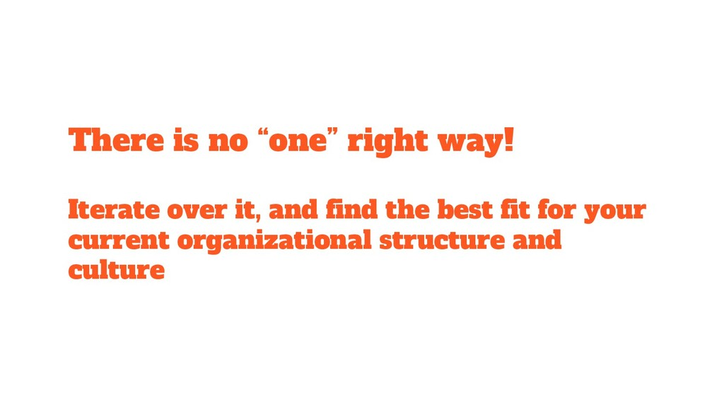 "There is no ""one"" right way! Iterate over it, a..."
