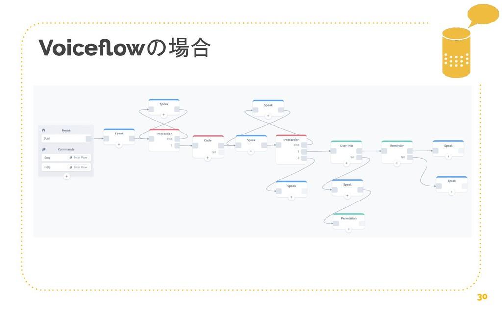 Voiceflowの場合 30