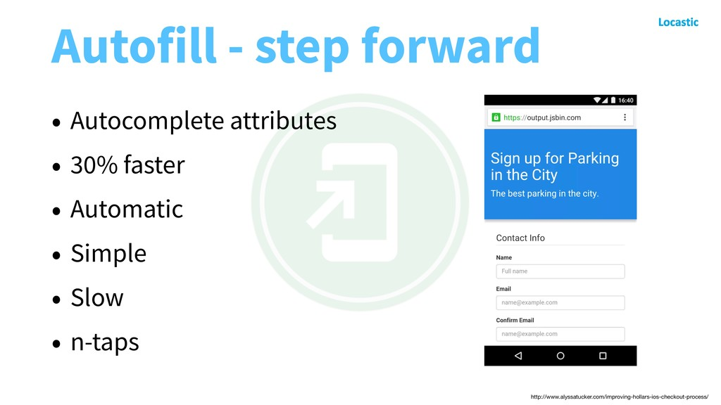 Autofill - step forward • Autocomplete attribut...