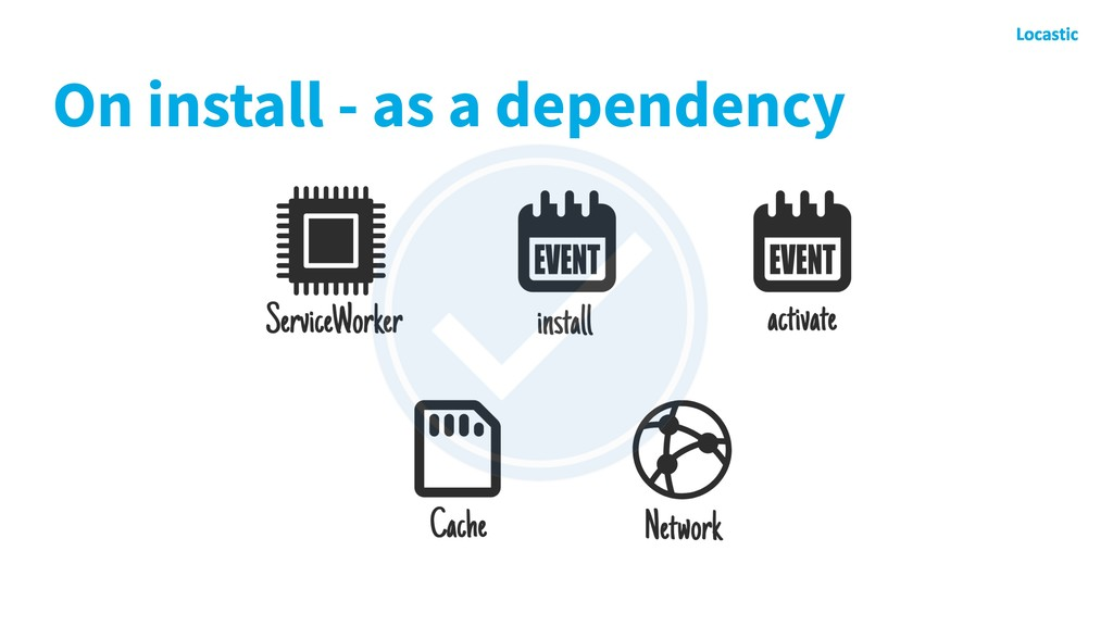 On install - as a dependency