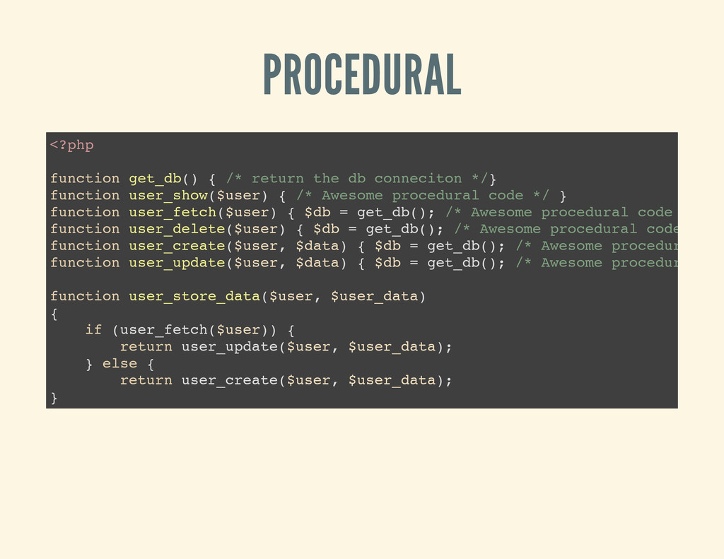 PROCEDURAL < ? p h p f u n c t i o n g e t _ d ...
