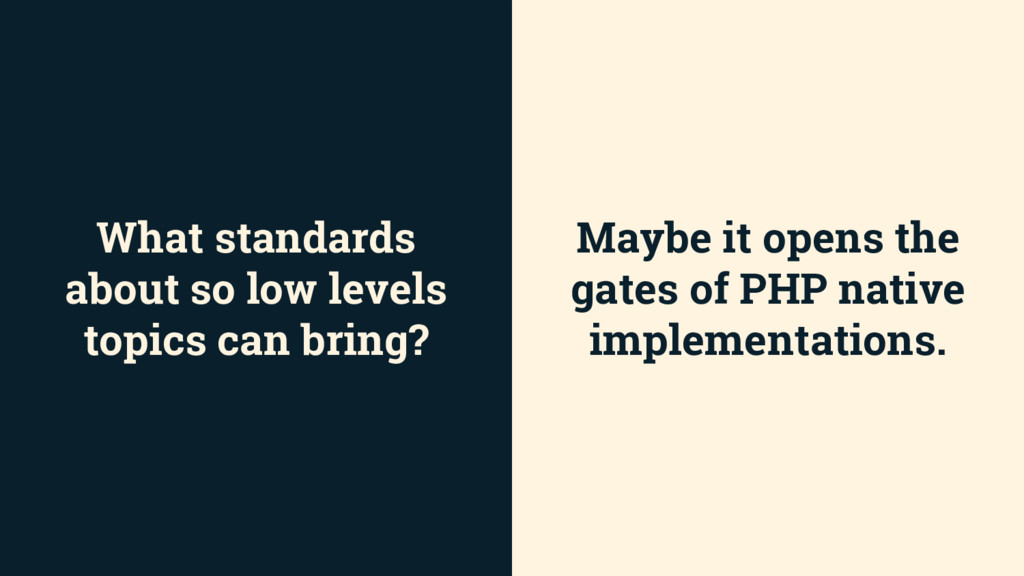 What standards about so low levels topics can b...