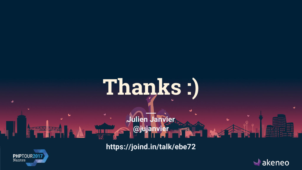 Thanks :) ___ Julien Janvier @jujanvier https:/...