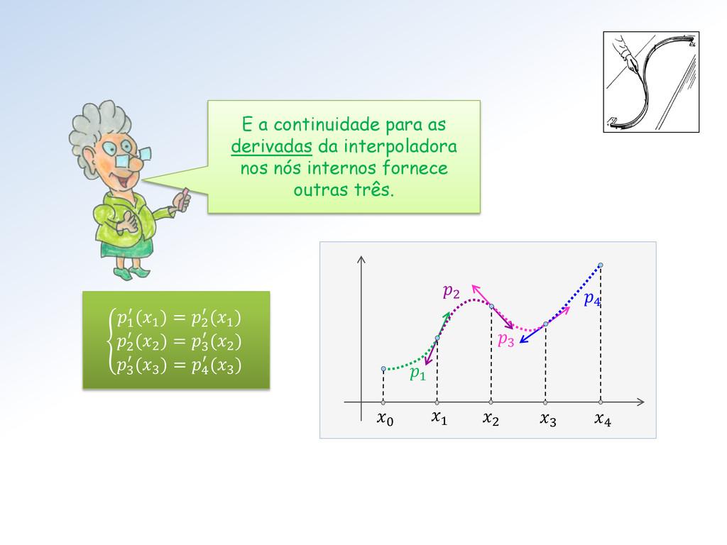 1 2 3 4 E a continuidade para as derivadas da i...