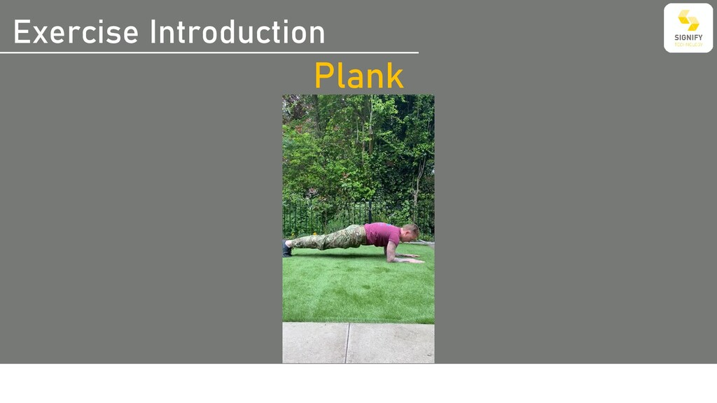 Exercise Introduction Plank