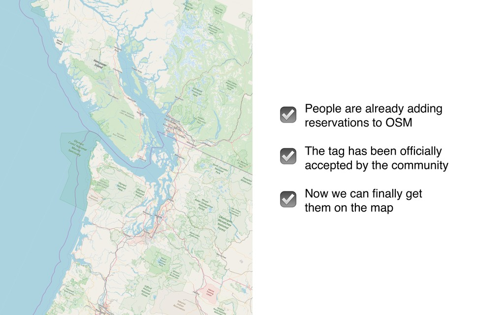 People are already adding reservations to OSM T...