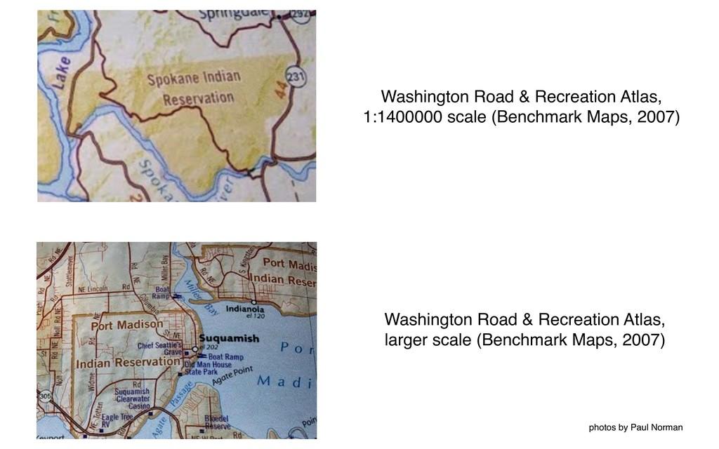 Washington Road & Recreation Atlas, 1:1400000 s...