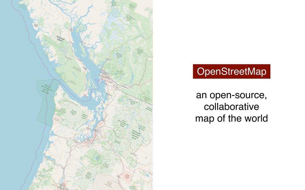 OpenStreetMap an open-source, collaborative map...