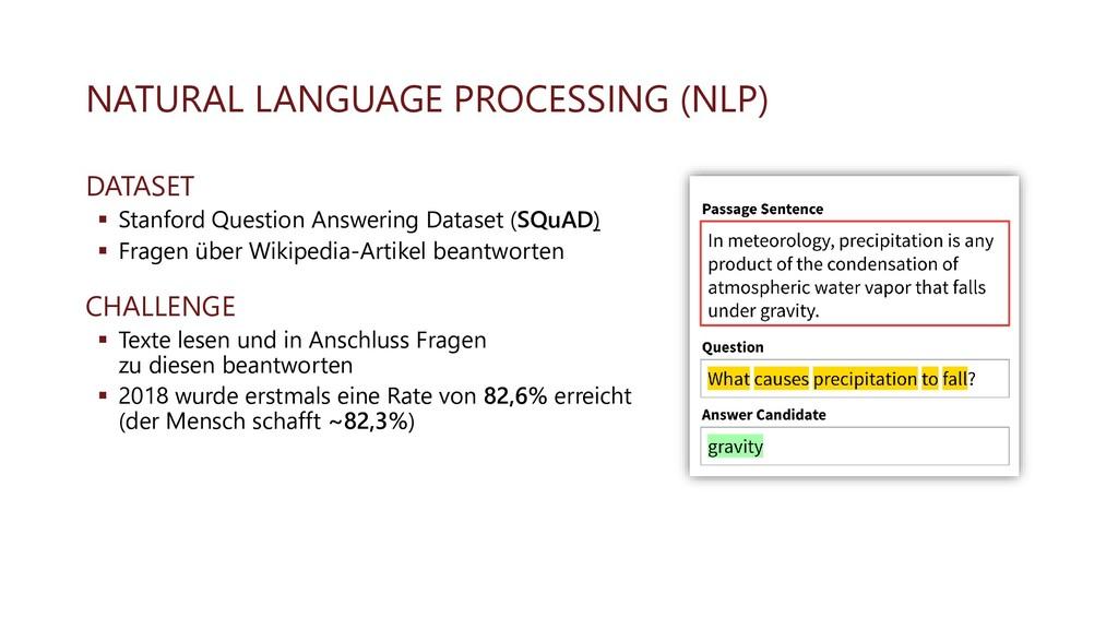 NATURAL LANGUAGE PROCESSING (NLP) DATASET ▪ Sta...