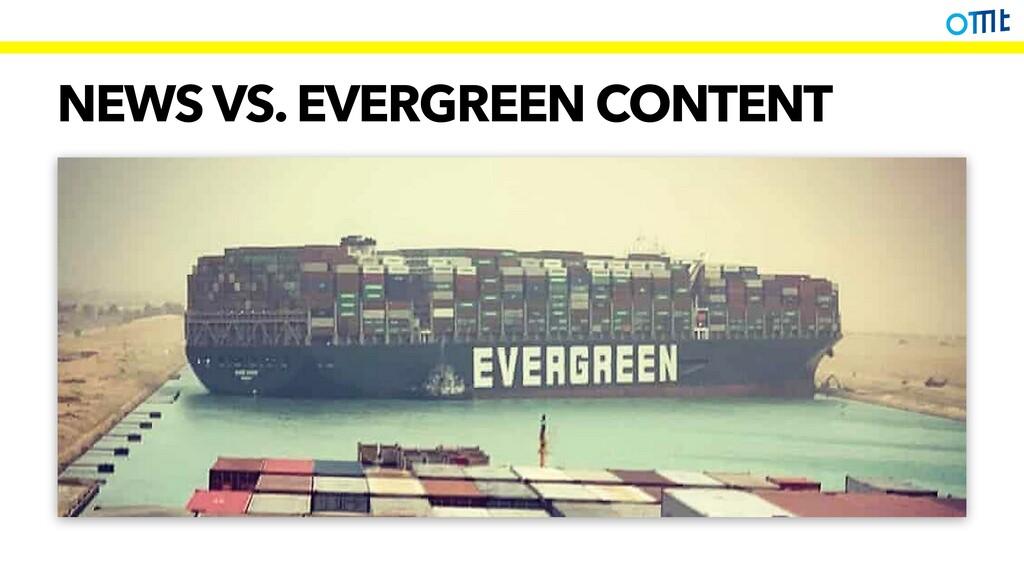 NEWS VS. EVERGREEN CONTENT