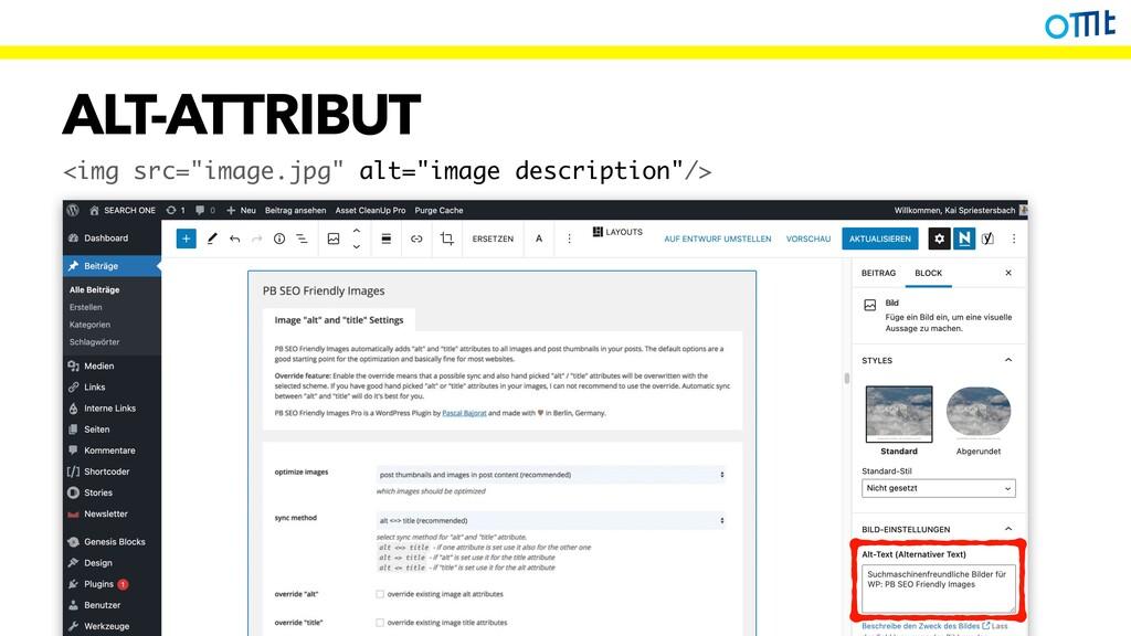 "ALT-ATTRIBUT <img src=""image.jpg"" alt=""image de..."