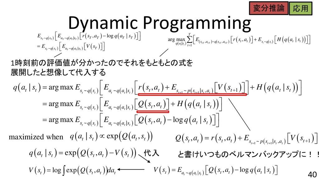 Dynamic Programming 40 ( ) ( ) ( ) ( ) ( ) ( ) ...