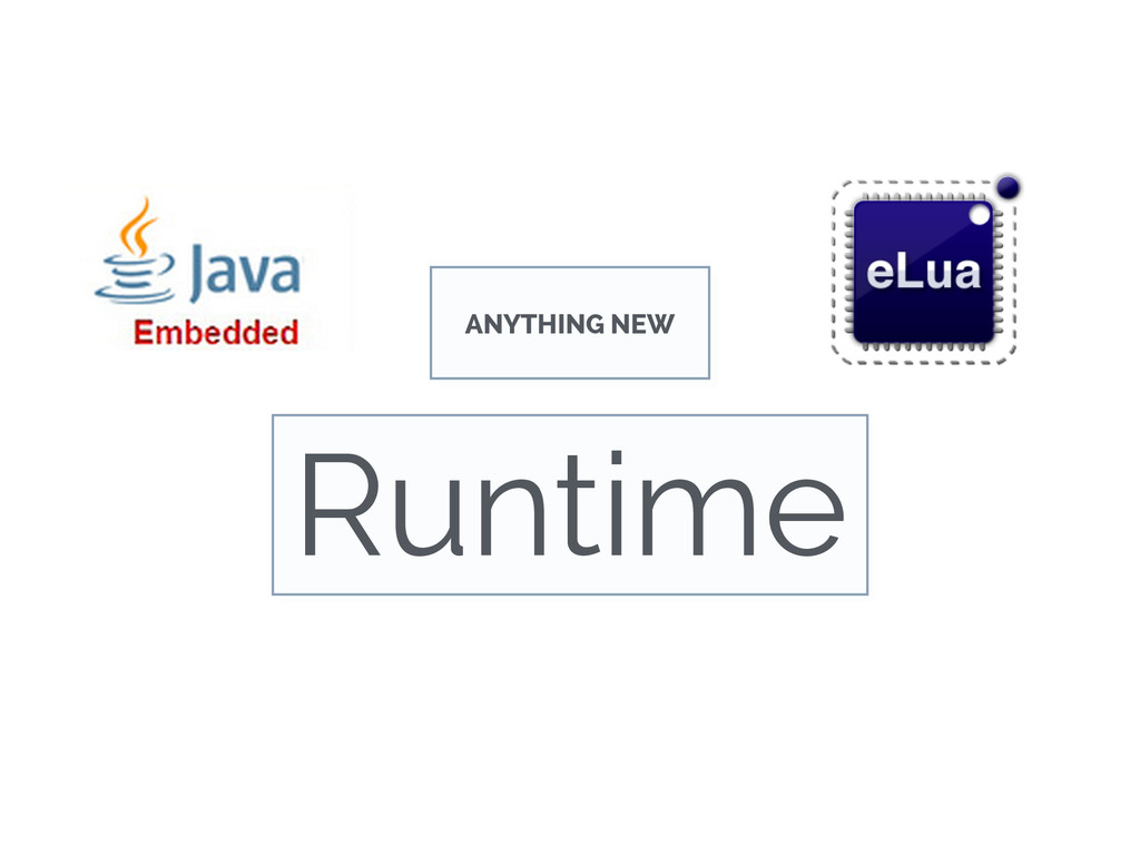 ANYTHING NEW Runtime
