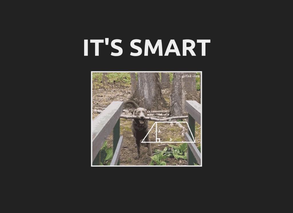 IT'S SMART