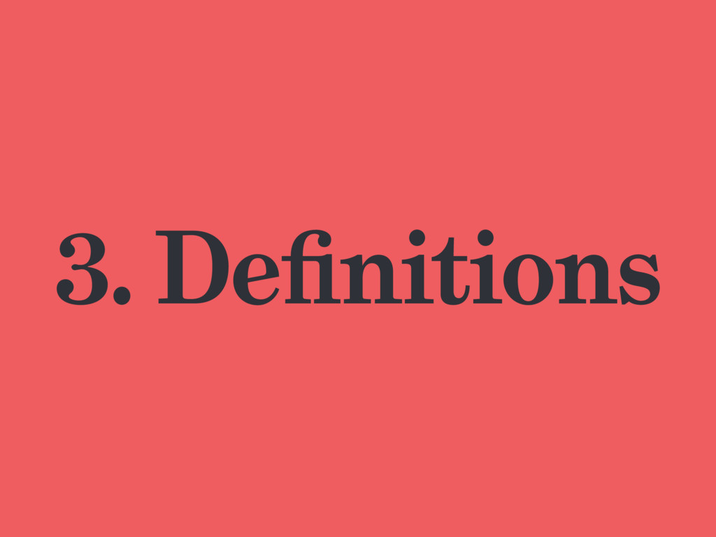 3. Definitions