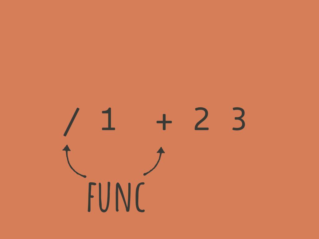 ( ( )) / 1 + 2 3 func