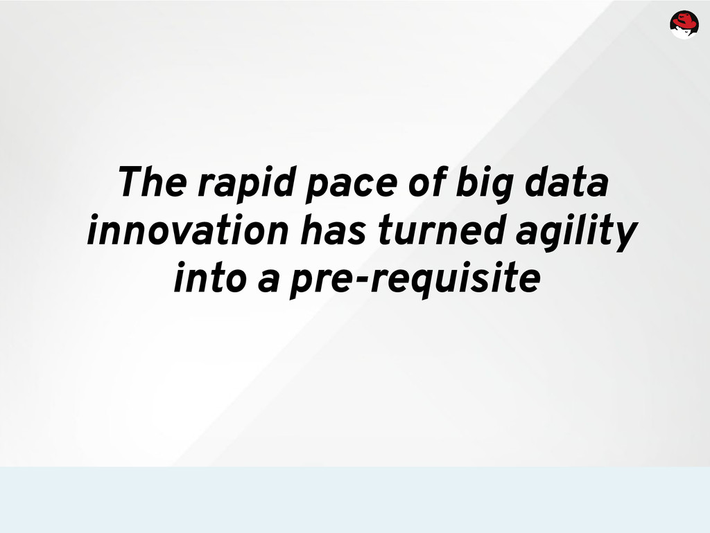 The rapid pace of big data innovation has turne...