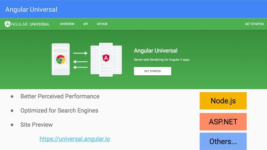 Angular Universal