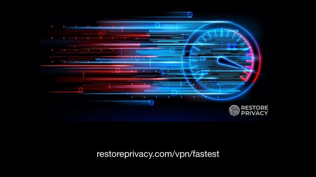 restoreprivacy.com/vpn/fastest