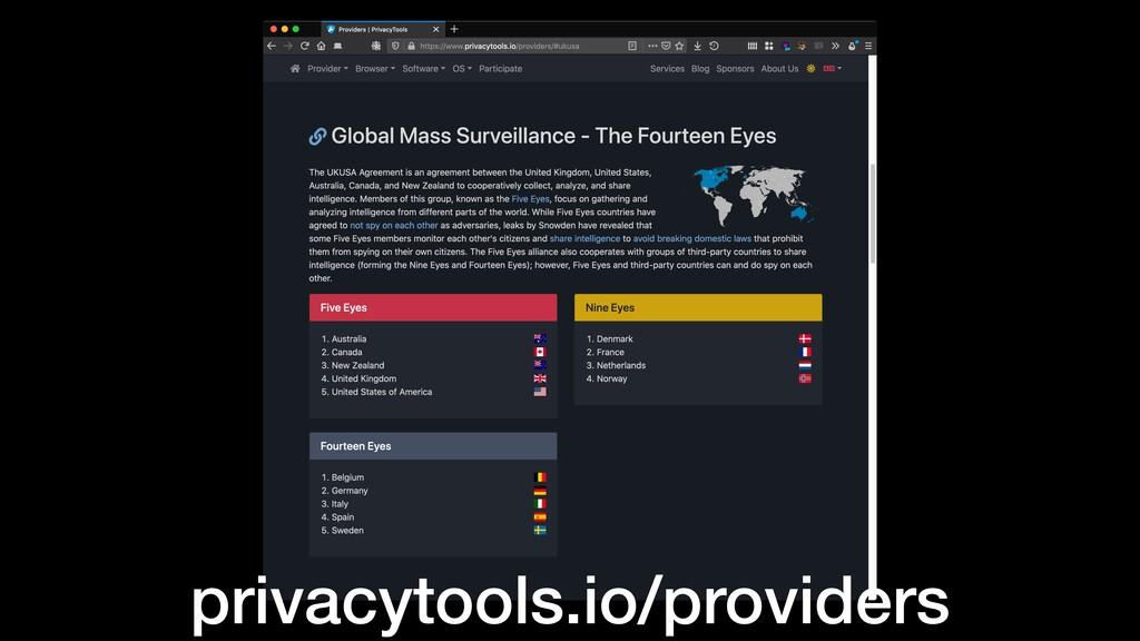 privacytools.io/providers