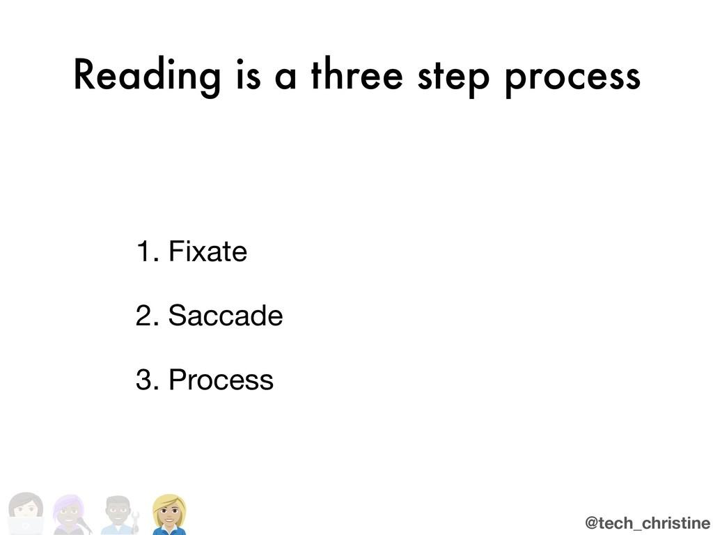 @tech_christine Reading is a three step process...
