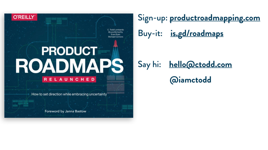 Sign-up: productroadmapping.com Buy-it: is.gd/r...