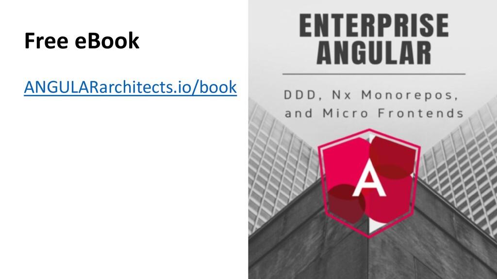 @ManfredSteyer Free eBook ANGULARarchitects.io/...