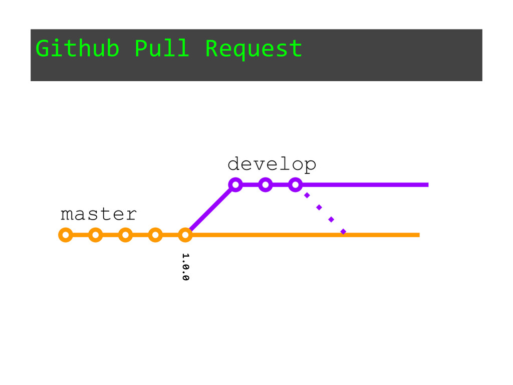 Github Pull Request 1.0.0 master develop