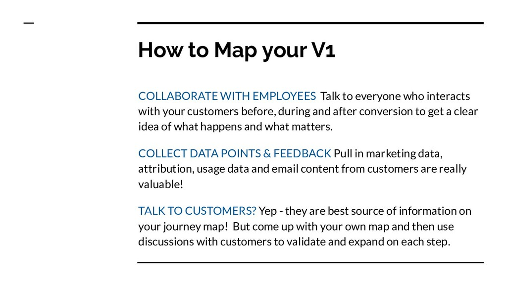 How to Map your V1 COLLABORATE WITH EMPLOYEES T...